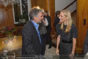 Empfang für Randy Newman - Residenz der US-Botschaft - Di 23.09.2014 - Andy BAUM, Alexa WESNER4