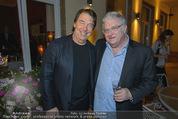 Empfang für Randy Newman - Residenz der US-Botschaft - Di 23.09.2014 - Randy NEWMAN mit Cousin David NEWMAN41