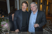 Empfang für Randy Newman - Residenz der US-Botschaft - Di 23.09.2014 - Randy NEWMAN mit Cousin David NEWMAN42