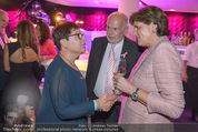 Pink Ribbon Charity - Albertina Passage - Di 30.09.2014 - Sabine OBERHAUSER, Manfred AINEDTER mit Ehefrau30
