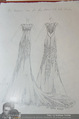 Miss World Einkleidung - LaHong Atelier - Mi 01.10.2014 - Skizzen der Kleider43