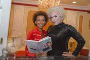 Uwe Kröger Buchpräsentation - Hotel Imperial - Mi 01.10.2014 - Uwe KR�GER, Arabella KIESBAUER1