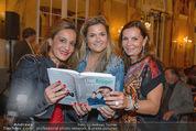 Uwe Kröger Buchpräsentation - Hotel Imperial - Mi 01.10.2014 - Andreas BOCAN, Sissy KNABL, Atousa MASTAN2
