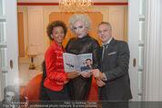 Uwe Kröger Buchpräsentation - Hotel Imperial - Mi 01.10.2014 - Uwe KR�GER, Arabella KIESBAUER, Claudio HONSAL21