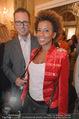 Uwe Kröger Buchpräsentation - Hotel Imperial - Mi 01.10.2014 - Arabella KIESBAUER, Florens EBLINGER30