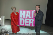 Appsolute Haider Premiere - Theater Akzent - Fr 03.10.2014 - Alfons HAIDER mit Mutter Anna2