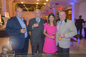 Brand Life Award - Novomatic Forum - Mi 08.10.2014 - Sigi MENZ, R. Engelbert WENCKHEIM, Alessandra u. H.Dieter KIENER14