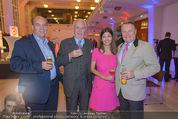 Brand Life Award - Novomatic Forum - Mi 08.10.2014 - Sigi MENZ, R. Engelbert WENCKHEIM, Alessandra u. H.Dieter KIENER15
