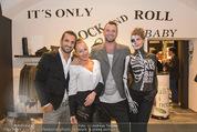 Store Opening - KissKissBangBang - Do 09.10.2014 - Ines und Fadi MERZA, Sasa RIDEL1