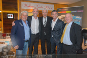 Wellness Gala - Hotel Marriott - Do 09.10.2014 - Toni POLSTER, Gerhard RODAY, Peter ARTNER, G PAZDERKA, Hans KARY2