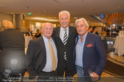 Wellness Gala - Hotel Marriott - Do 09.10.2014 - Toni POLSTER, Georg PAZDERKA, Hans KARY27
