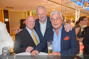 Wellness Gala - Hotel Marriott - Do 09.10.2014 - Edi FINGER, Georg PAZDERKA, Hans KARY3