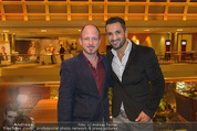 Wellness Gala - Hotel Marriott - Do 09.10.2014 - Alexander SAEL, Fadi MERZA45