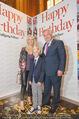 Wolfgang Fellner 60er - Park Hyatt Hotel - Mo 13.10.2014 - Uschi P�TTLER-FELLNER, Wolfgang FELLNER mit Sohn Benni1
