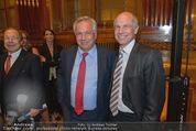 Wolfgang Fellner 60er - Park Hyatt Hotel - Mo 13.10.2014 - Wolfgang FELLNER mit Bruder Helmuth FELLNER115