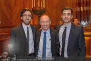 Wolfgang Fellner 60er - Park Hyatt Hotel - Mo 13.10.2014 - Attila DOGUDAN mit S�hnen Marius (Mariusz) und Attila133