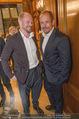 Wolfgang Fellner 60er - Park Hyatt Hotel - Mo 13.10.2014 - Gery KESZLER mit Freund Andreas139