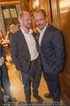 Wolfgang Fellner 60er - Park Hyatt Hotel - Mo 13.10.2014 - Gery KESZLER mit Freund Andreas140