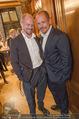 Wolfgang Fellner 60er - Park Hyatt Hotel - Mo 13.10.2014 - Gery KESZLER mit Freund Andreas141