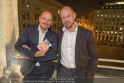 Wolfgang Fellner 60er - Park Hyatt Hotel - Mo 13.10.2014 - Gery KESZLER mit Freund Andreas142