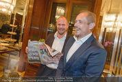 Wolfgang Fellner 60er - Park Hyatt Hotel - Mo 13.10.2014 - Gery KESZLER mit Freundin Andreas148