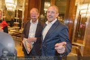 Wolfgang Fellner 60er - Park Hyatt Hotel - Mo 13.10.2014 - Gery KESZLER mit Freundin Andreas149