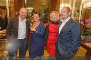 Wolfgang Fellner 60er - Park Hyatt Hotel - Mo 13.10.2014 - Gery KESZLER mit Freundin Andreas, Doris POMMERENING150