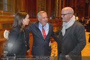 Wolfgang Fellner 60er - Park Hyatt Hotel - Mo 13.10.2014 - DJ �TZI Gerry FRIEDLE mit Ehefrau Sonja, Wolfgang FELLNER155