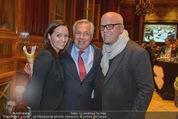 Wolfgang Fellner 60er - Park Hyatt Hotel - Mo 13.10.2014 - DJ �TZI Gerry FRIEDLE mit Ehefrau Sonja, Wolfgang FELLNER156
