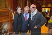 Wolfgang Fellner 60er - Park Hyatt Hotel - Mo 13.10.2014 - DJ �TZI Gerry FRIEDLE mit Ehefrau Sonja, Wolfgang FELLNER158