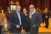 Wolfgang Fellner 60er - Park Hyatt Hotel - Mo 13.10.2014 - DJ �TZI Gerry FRIEDLE mit Ehefrau Sonja, Hannes AMETSREITER161