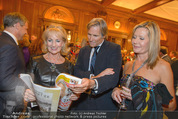 Wolfgang Fellner 60er - Park Hyatt Hotel - Mo 13.10.2014 - Dagmar KOLLER, Christian NIEDERMEYER, Petra WRABETZ167