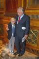 Wolfgang Fellner 60er - Park Hyatt Hotel - Mo 13.10.2014 - Wolfgang FELLNER mit Sohn Benni171