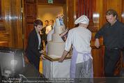 Wolfgang Fellner 60er - Park Hyatt Hotel - Mo 13.10.2014 - Geburtstagstorte182