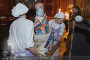 Wolfgang Fellner 60er - Park Hyatt Hotel - Mo 13.10.2014 - Geburtstagstorte183