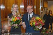 Wolfgang Fellner 60er - Park Hyatt Hotel - Mo 13.10.2014 - Oliver VOIGT, Sophie FR�SCHL194