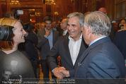 Wolfgang Fellner 60er - Park Hyatt Hotel - Mo 13.10.2014 - Doris BURES, Werner FAYMANN, Wolfgang FELLNER196