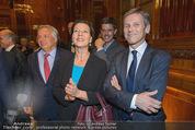 Wolfgang Fellner 60er - Park Hyatt Hotel - Mo 13.10.2014 - Wolfgang FELLNER, Johanna MIKL-LEITNER211