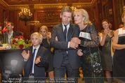Wolfgang Fellner 60er - Park Hyatt Hotel - Mo 13.10.2014 - Benni FELLNER, Dagmar KOLLER, Josef OSTERMAYER222