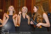 Wolfgang Fellner 60er - Park Hyatt Hotel - Mo 13.10.2014 - Katharina WALLECZEK, Sophie FR�SCHL, Katrin LAMPE223