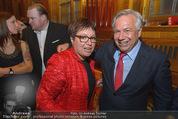 Wolfgang Fellner 60er - Park Hyatt Hotel - Mo 13.10.2014 - Sabine OBERMOSER, Wolfgang FELLNER226