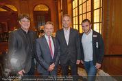 Wolfgang Fellner 60er - Park Hyatt Hotel - Mo 13.10.2014 - Peter KLINGLM�LLER, Werner KUHN, Steffen HOFMANN46