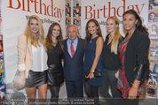 Wolfgang Fellner 60er - Park Hyatt Hotel - Mo 13.10.2014 - Wolfgang FELLNER mit Missen (BATINIC, DUHOVICH, KAISER, HACKL..)47