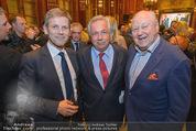 Wolfgang Fellner 60er - Park Hyatt Hotel - Mo 13.10.2014 - Josef OSTERMAYER, Wolfgang FELLNER, Karl BLECHA78