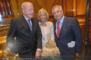 Wolfgang Fellner 60er - Park Hyatt Hotel - Mo 13.10.2014 - Christine und Franz VRANITZKY, Wolfgang FELLNER80