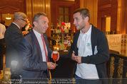 Wolfgang Fellner 60er - Park Hyatt Hotel - Mo 13.10.2014 - Werner KUHN, Steffen HOFMANN86