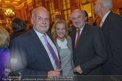 Wolfgang Fellner 60er - Park Hyatt Hotel - Mo 13.10.2014 - Manfred AINEDTER, Kathi ZECHNER, Erwin PR�LL88