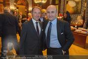 Wolfgang Fellner 60er - Park Hyatt Hotel - Mo 13.10.2014 - Franz WOHLFAHRT, Ali RAHIMI90