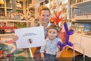 Null Promille Party - Herr und Frau Klein - Di 14.10.2014 - Maci BLAHA mit Sohn Nepomuk1