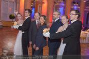 PK zum Silvesterball - Hofburg - Mi 15.10.2014 - Alexandra KASZAY, Herbert FISCHERAUER, Cristoph CREMER15